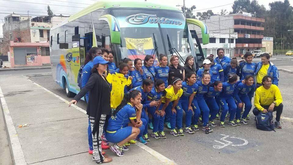 Selección Nacional Femenina ECUADOR