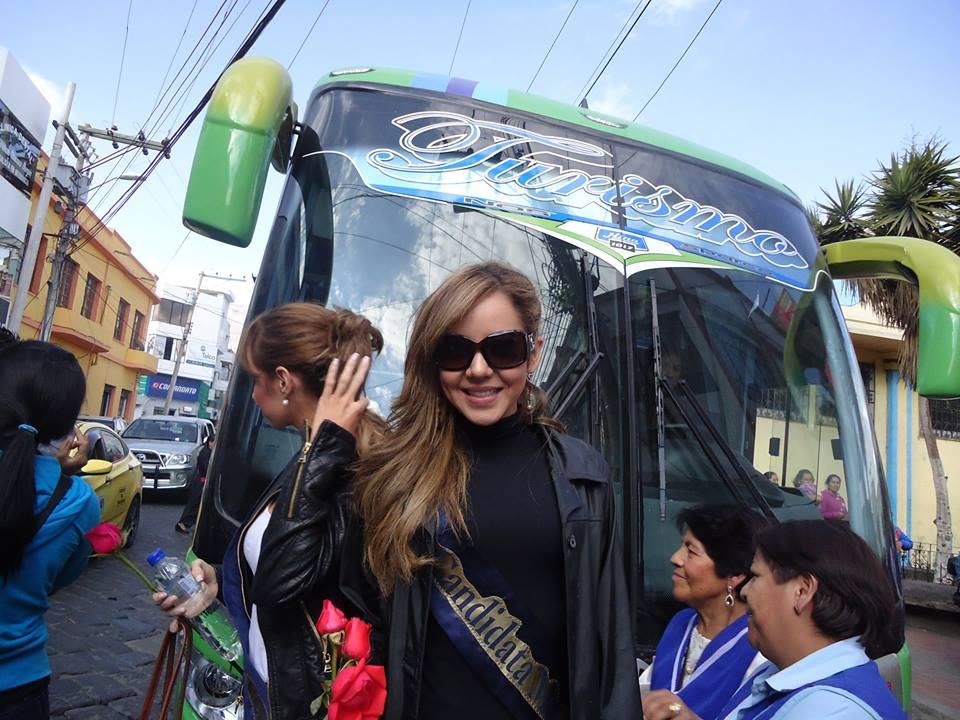 Traslado Candidatas Miss Ecuador