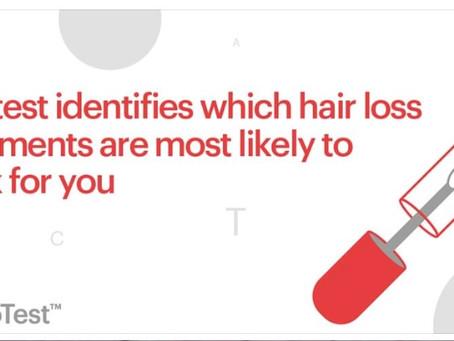 The Genetics Hair Loss Test