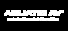 Aquatic AV Logo 2017 & Tagline - White.p