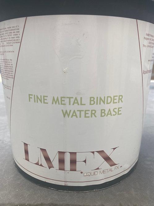 Fine metal binder