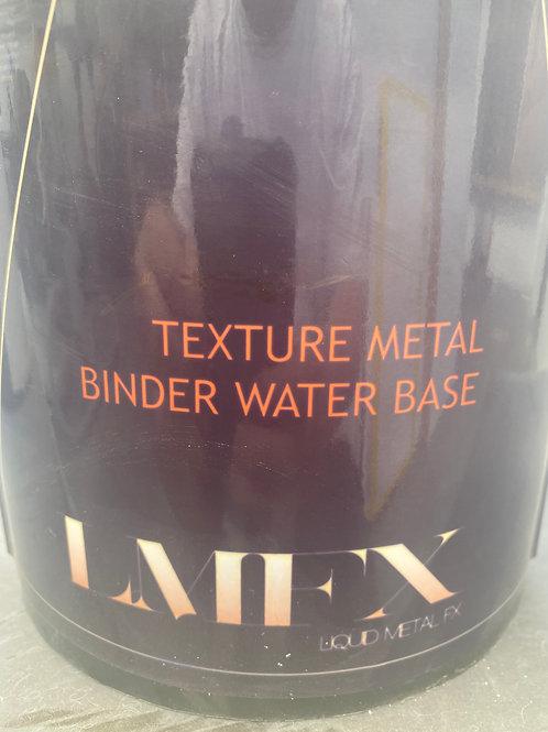 Textured metal binder