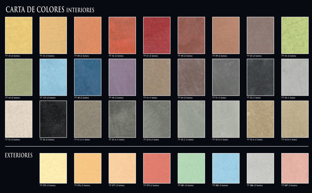 Microcement Colour Chart