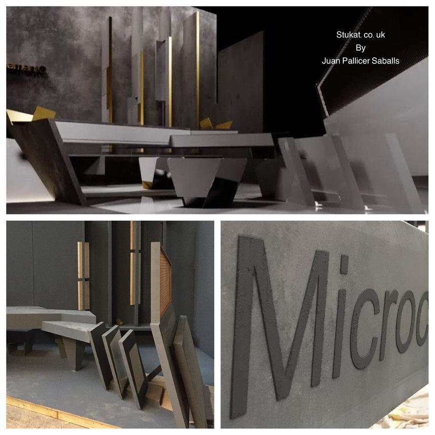 Microcement furniture