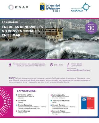 """Seminario """"Energías renovables no convencionales en el mar"""""""