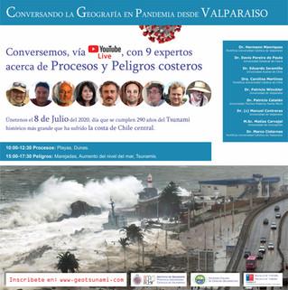 """Seminario: """"Conversando la Geografía en pandemia desde Valparaíso"""""""