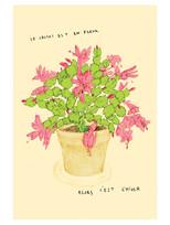 Le cactus / format carte postale