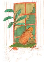 La jungle / format carte postale