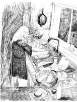 Vaisselle tendue