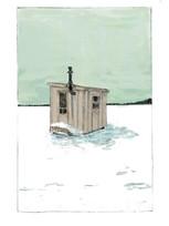 Lac plantain / format carte postale