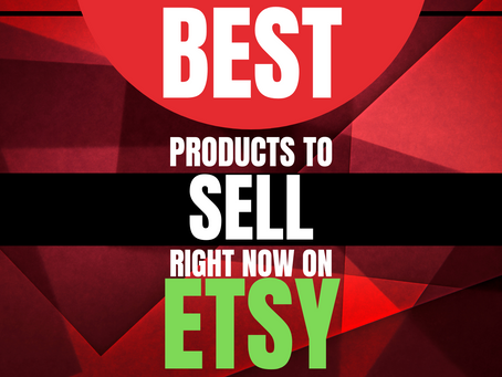 Best Products To Sell On Etsy To Make Money