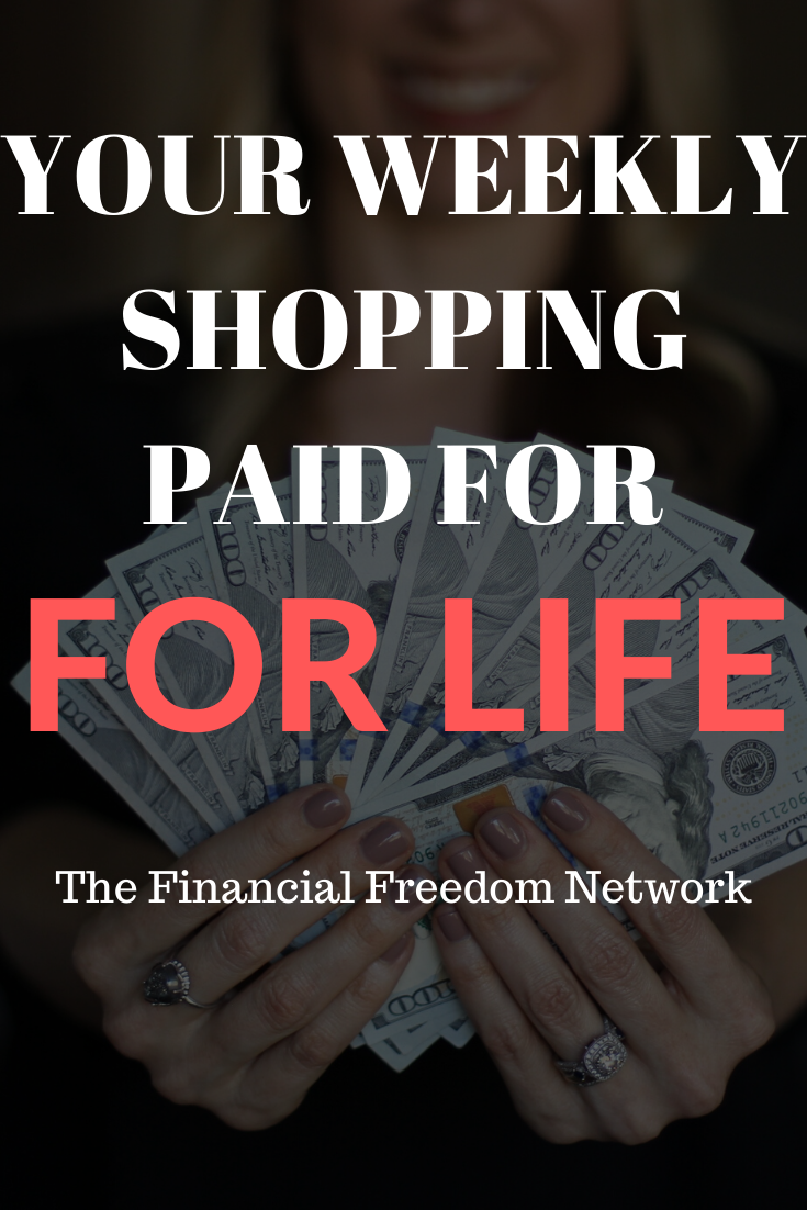 Learn how to make money online and have your grocery shopping paid for every week