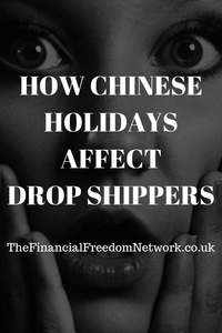 Aliexpress and other China drop shippers affected by Chinese new year in 2020 and other national holidays