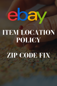 The new ebay item location policy for adding a zip or post code can have an impact on your drop shipping business on ebay