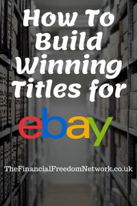 how to make good ebay listings