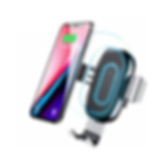 BASEUS An On Board Gravity Two in One Wireless Charging Bracket - Black 10W Wireless Car Charger Phone Holder with Air Vent Mount 5V/2A,9V/1.8A