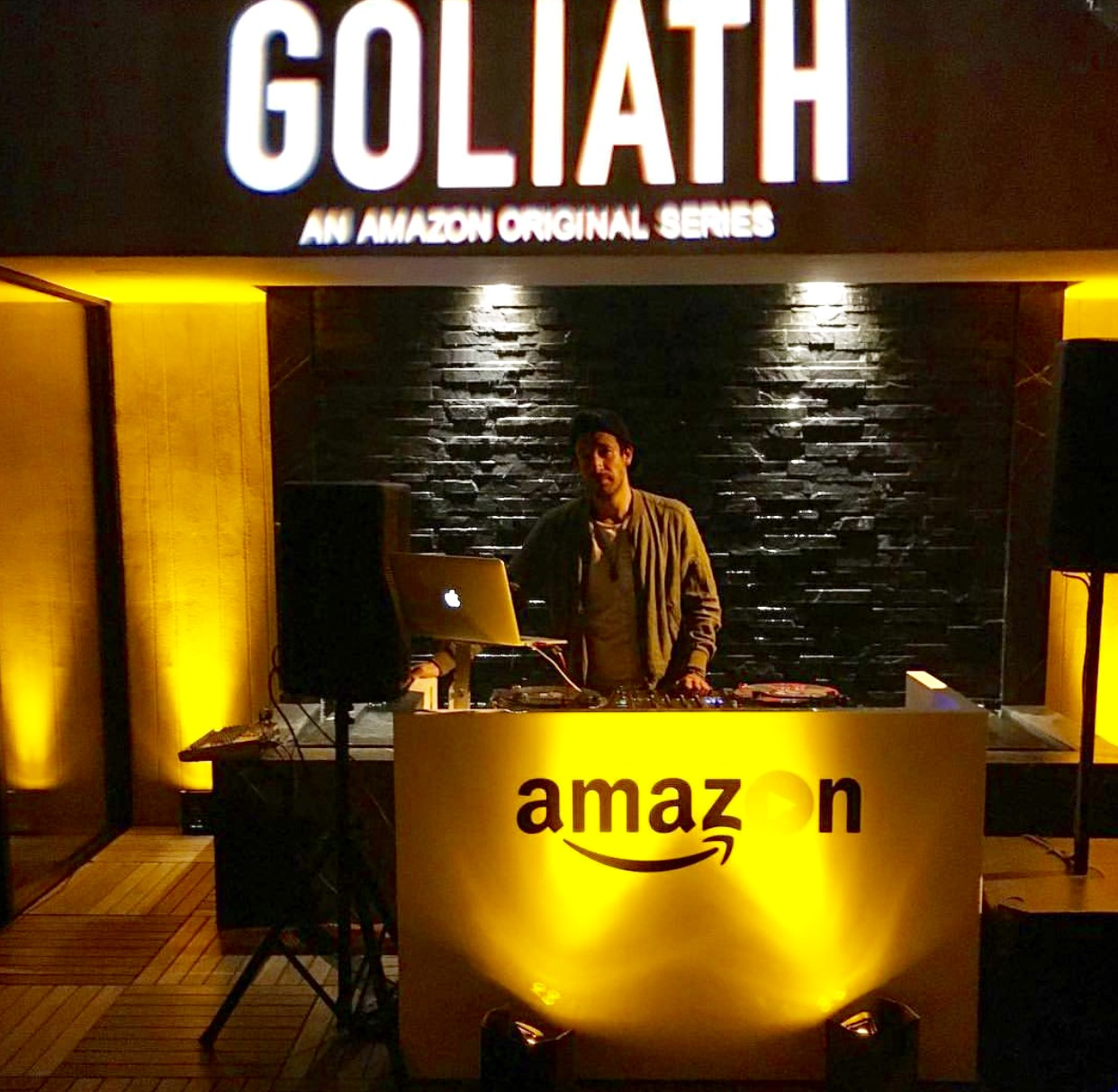 Amazon launch for Goliah