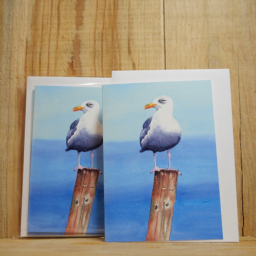Multi pack of 4 seagull gift cards