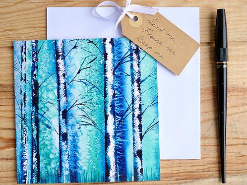 Silver Birch. Gift card