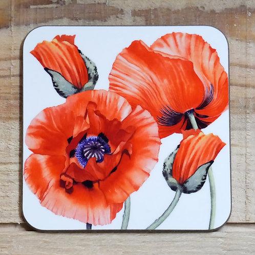 Poppy Coaster