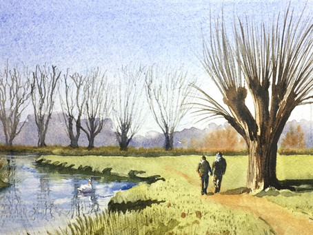 New Online Watercolour Course is Live!
