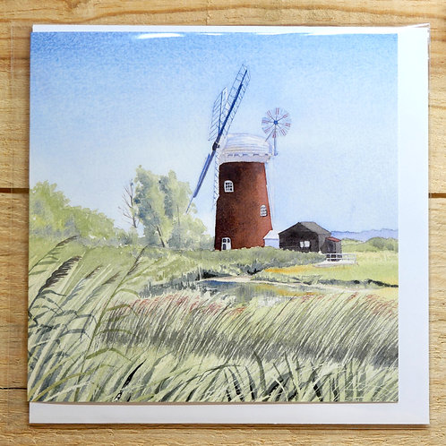 Horsey Windmill. Gift card