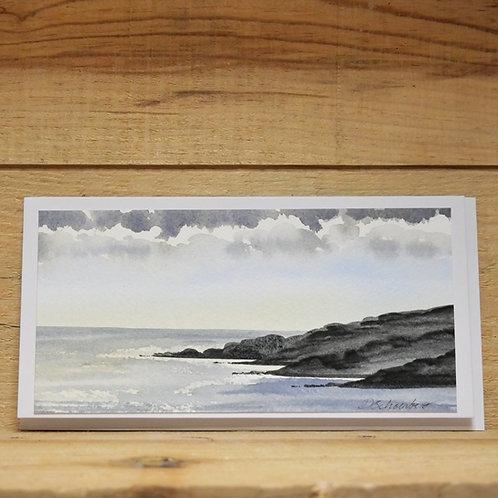 Hand painted original card -Isle of Mull