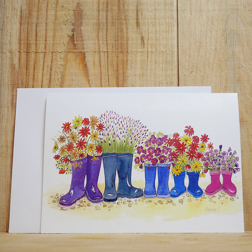 Family of Wellies 2. Gift card