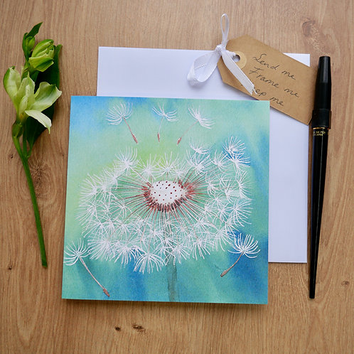 Dandelion. Gift card