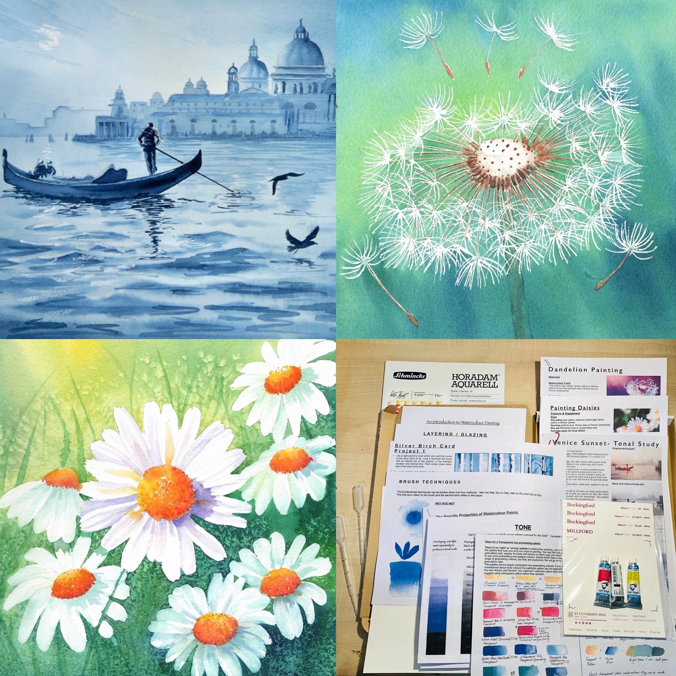 Beginners Watercolour Painting Workshop