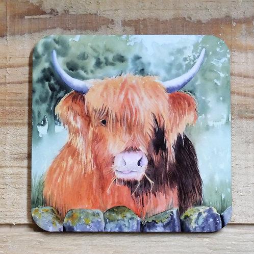 Coaster Highland Cow Boris