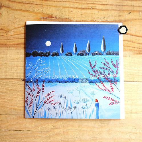 Moonlight over Grantchester. Gift card