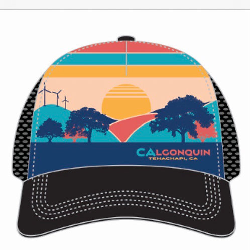 CALQ Morning Glow Boco Trucker Hat (Preorder - will arrive in March)
