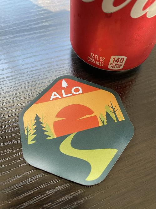 ALQ logo magnet
