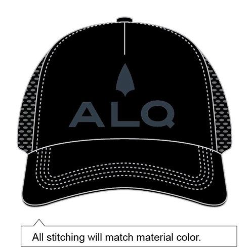 ALQ Black BOCO Trucker Hat