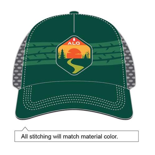 ALQ Green BOCO Trucker Hat