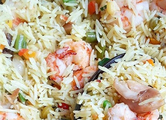 Nigerian Food Delivered - Coconut Fried Rice