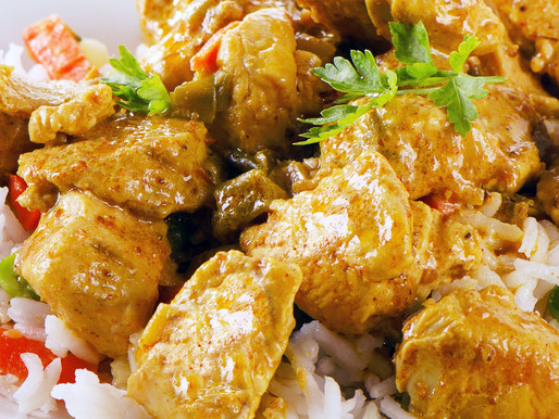 Getting Bored With Eating The Same 'Ol Naija Food? Try Coconut Chicken Curry!