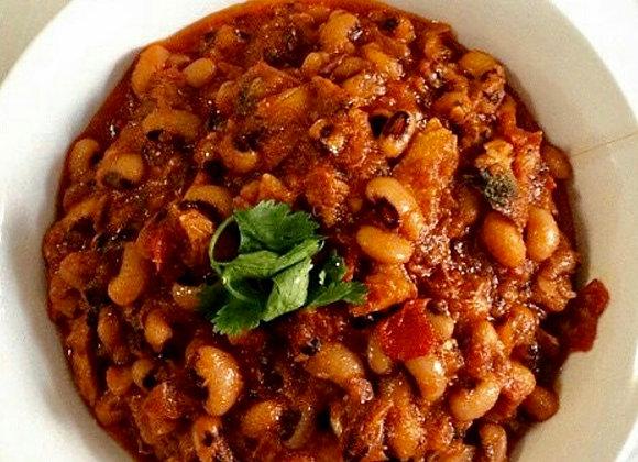 Stewed Nigerian Beans