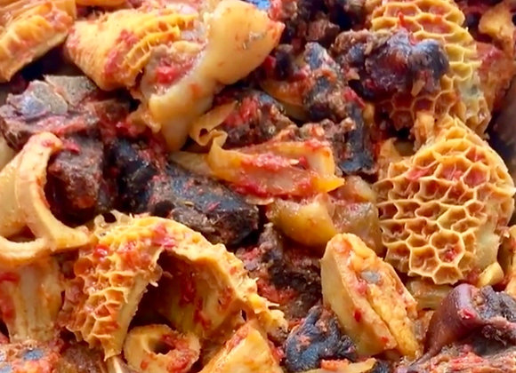 Peppered Assorted Meat