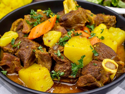 Something Other Than Naija Food? Curry Goat Works!