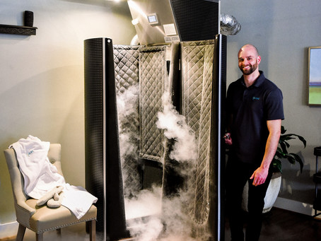 Whole Body Cryosauna at Rivanna Cryotherapy Recovery Center