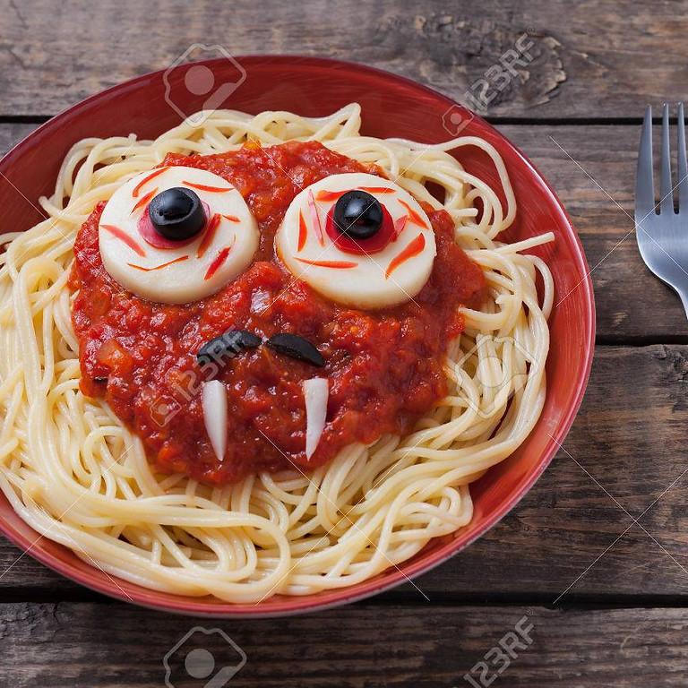 Halloweenwandeling + spaghettislag