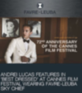 Andrei Lucas London Influencer UK Blogge