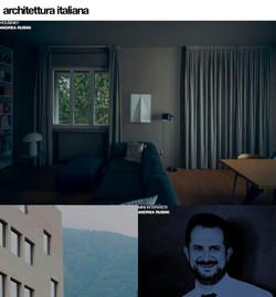 home page architettura italiana