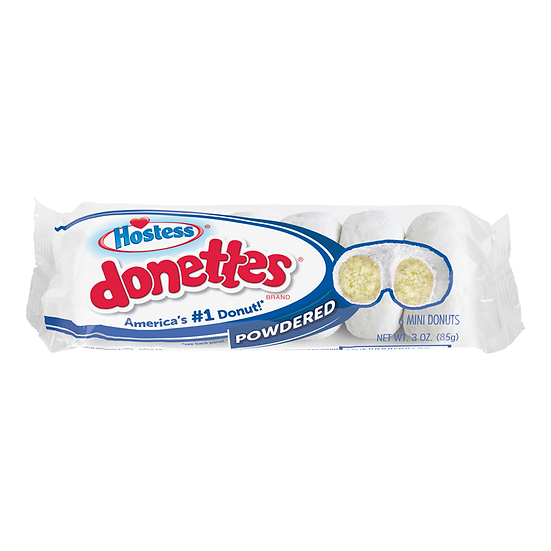 Hostess Powdered Mini Donettes
