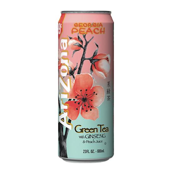 AriZona Green Tea with Ginseng and Georgia Peach
