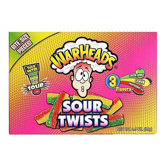 Warheads - Sour Twists Theatre Box