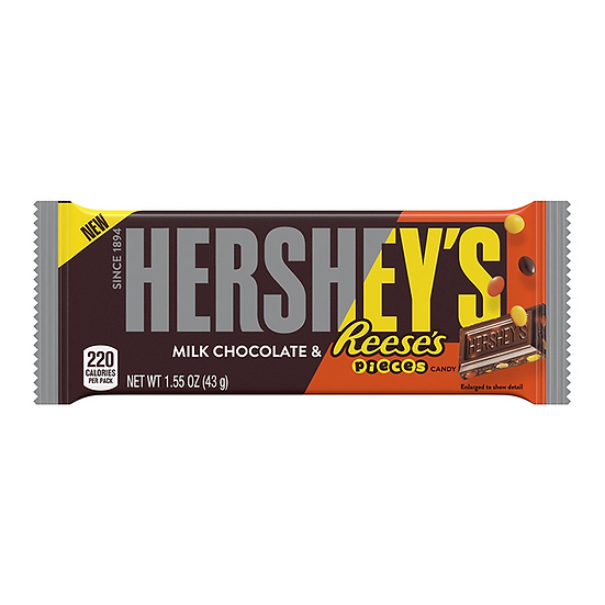 Hershey's Milk Chocolate with Reese's Pieces