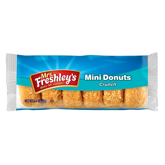 Mrs Freshley's Crunch Mini Donuts 3.4oz